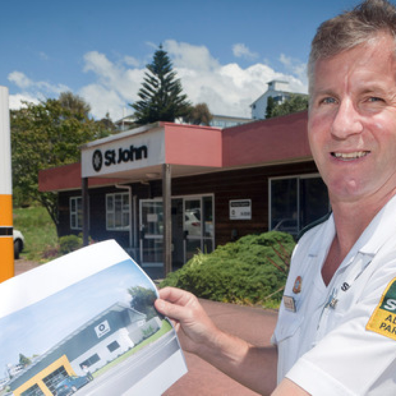 TECT boost much-needed for St John station upgrade