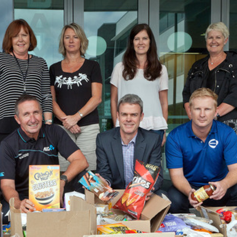 Businesses unite for Tauranga Foodbank
