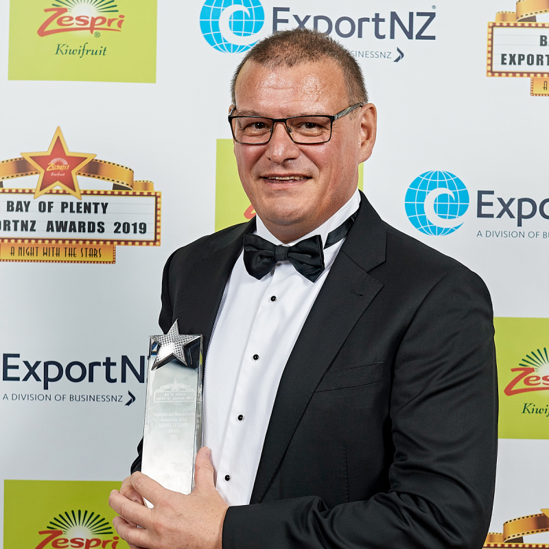 Murray Humbled By Export Honour